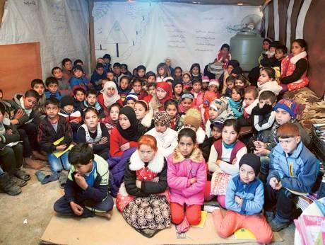 Sejuta kanak-kanak pelarian Syria tidak bersekolah