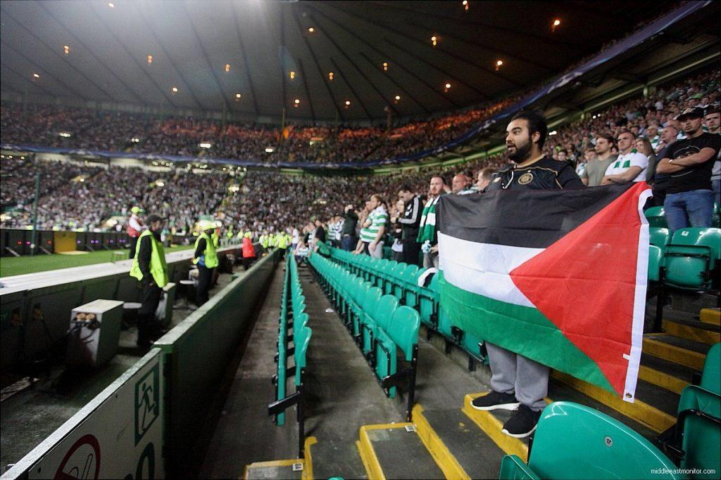 Penyokong Celtic kumpul 80,000 Euro untuk Palestin