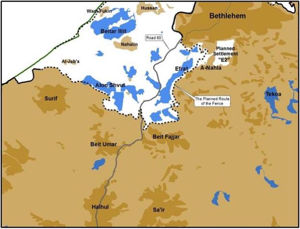 Zionis rancang pecahkan Tebing Barat kepada dua