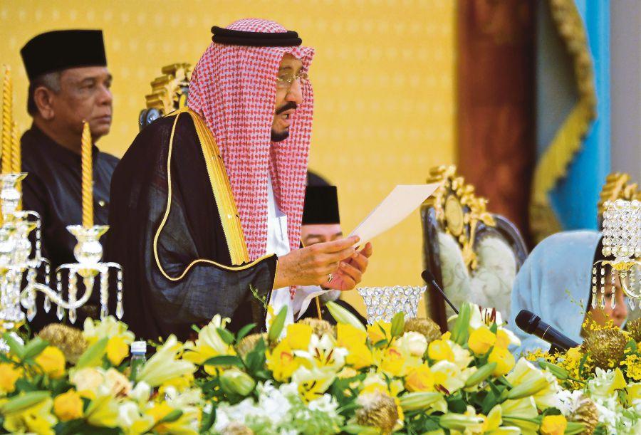 Bangunkan Malaysia Berlandaskan Prinsip Islam Raja Salman Indahnya Islam