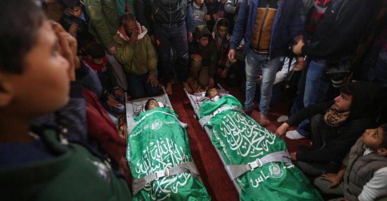 Dua remaja Palestin mangsa korban serangan pengganas Israel