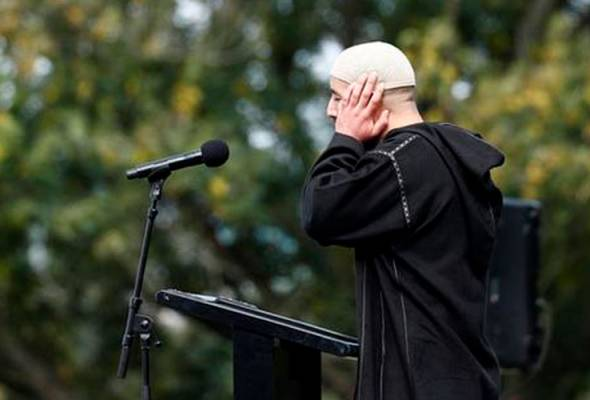 Azan Jumaat bergema secara langsung di New Zealand