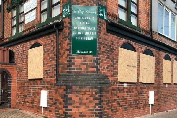 Empat masjid diserang di Birmingham