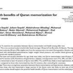 Hafal al-Quran kurangkan tekanan, depresi dan diabetes: Kajian