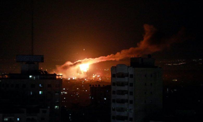 Gaza dibedil lagi oleh Israel