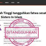 Mahkamah tangguhkan fatwa sesat terhadap Sister in Islam