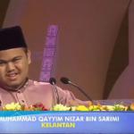 Qari cacat penglihatan Kelantan, Qariah Perak johan tilawah
