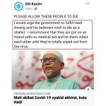 Kekeliruan Siti Kasim tentang syahid