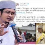 Imam of Peace lempar fitnah jahat pada Raja Permaisuri Agong