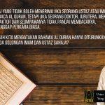 Kepada siapakah al-Quran ini diturunkan?
