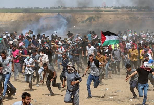 Aman Palestin ajak rakyat suarakan protes ke atas kezaliman Zionis