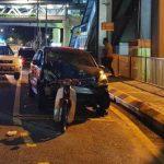 Penghantar makanan maut dirempuh pemandu mabuk