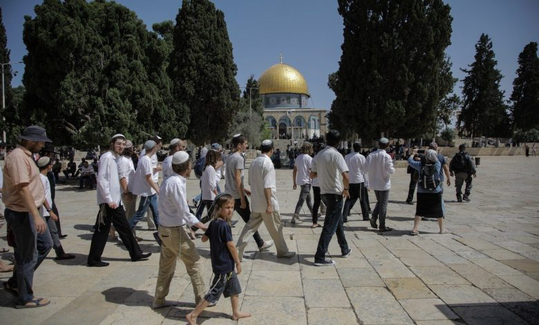 105 ekstremis Yahudi ceroboh masuk Al-Aqsa