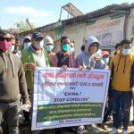 Umat Islam Nepal protes penindasan terhadap Uyghur