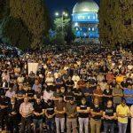 Tak gentar Israel, 90,000 rakyat Palestin bersolat di Masjid al-Aqsa